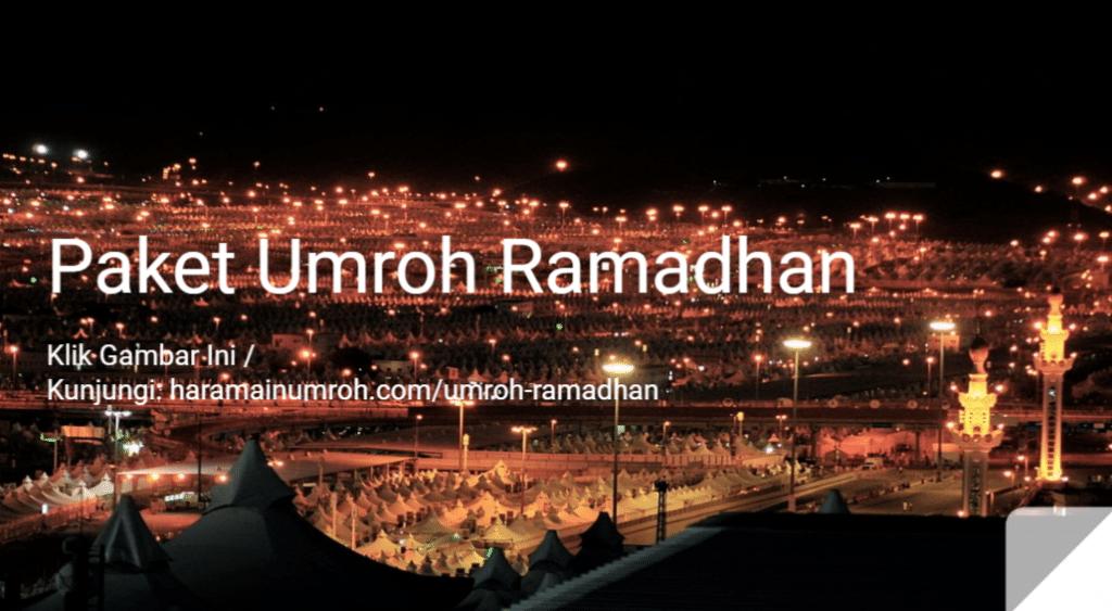 paket umroh bulan ramadhan