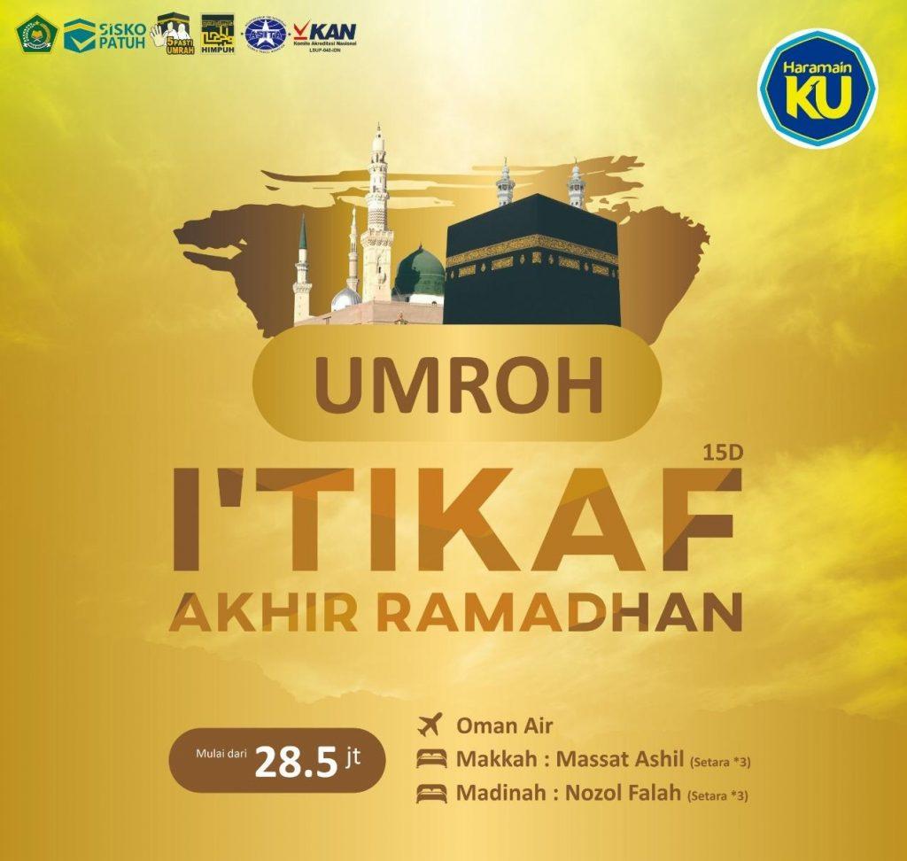 umroh murah itikaf ramadhan