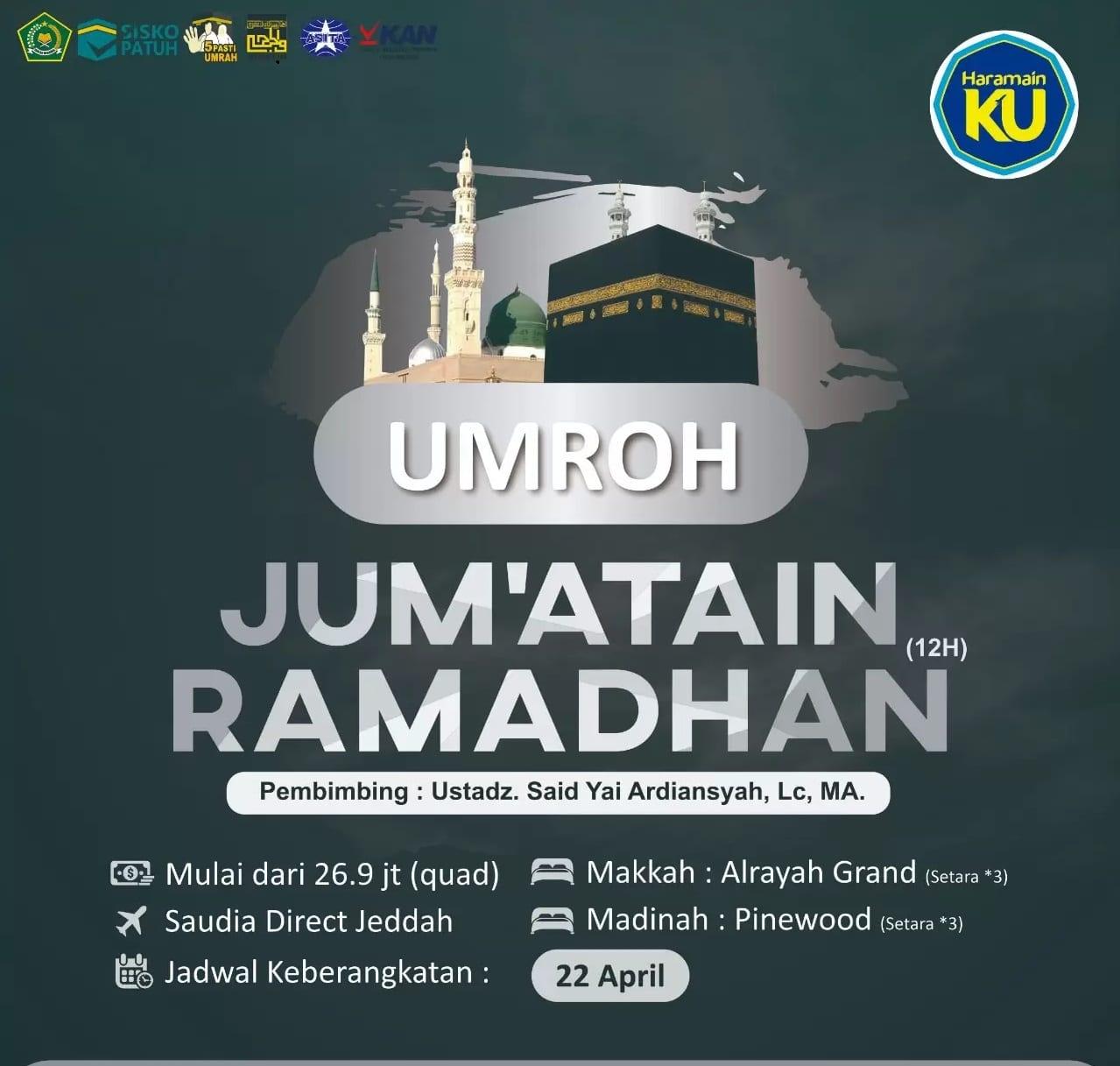 umroh jumatain ramadhan 1
