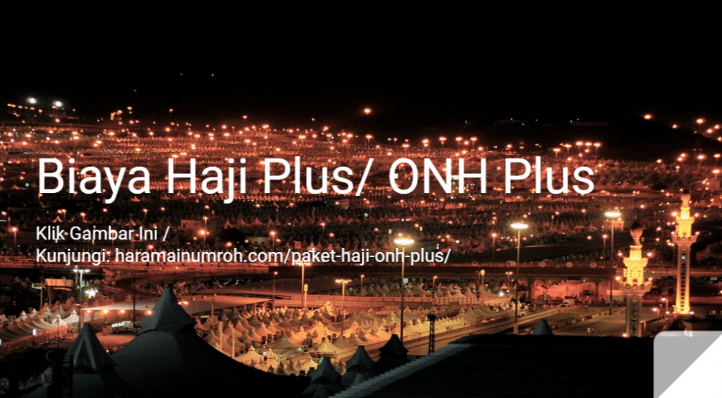 biaya haji plus/ onh plus