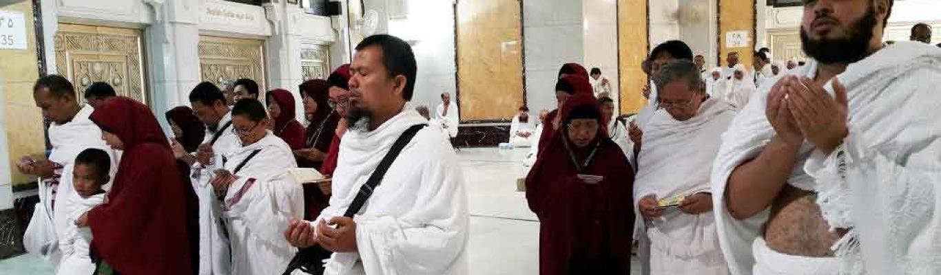 jamaah umroh sunnah haramain tour berdoa